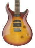 Corpo della chitarra elettrica Fotografia Stock
