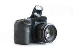Corpo della fotocamera e lente di Dslr immagine stock libera da diritti