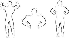 Corpo di configurazione illustrazione di stock
