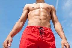 Corpo di salute e di sport del giovane Fotografia Stock