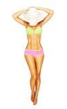 Corpo fêmea bonito Foto de Stock Royalty Free