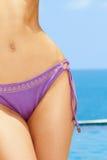 Corpo fêmea sensual Fotografia de Stock