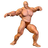 Corpo humano - homem muscular Foto de Stock Royalty Free