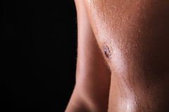 Corpo maschio Fotografie Stock