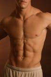 Corpo masculino Fotografia de Stock Royalty Free