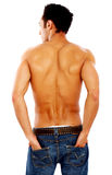 Corpo masculino da parte traseira Imagem de Stock Royalty Free