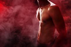 Corpo muscular do homem Foto de Stock