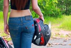 Corpo nas calças de brim Imagem de Stock Royalty Free