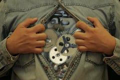 Corpo-orologio Fotografie Stock Libere da Diritti