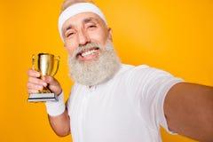 Corpo, salute, cura, campione, misura, svago, addestramento, allenamento, happ Fotografia Stock Libera da Diritti