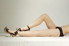 Corpo 'sexy' das mulheres Imagens de Stock Royalty Free
