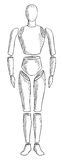 Corpo umano astratto Immagine Stock Libera da Diritti