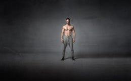 Corpo umano pronto per l'allenamento Fotografie Stock