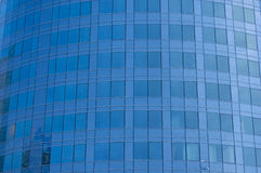 Corporación azul, edificio de oficinas Imagen de archivo libre de regalías