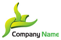 Corporate 3d logo Stock Images