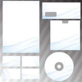 Corporate abstract wave templates Stock Photography
