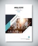 Corporate annual report template design. corporate business docu Stock Image