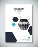 Corporate annual report template design. corporate business docu Royalty Free Stock Image