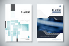 Corporate annual report template design. corporate business document design. vector illustration. Stock Images