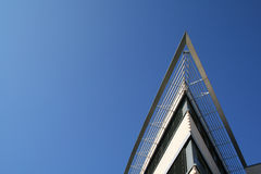 Corporate architecture. And blue sky Stock Photos