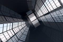 Corporate Architecture vector illustration