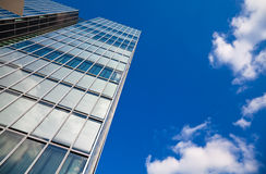 Corporate Background. Modern architecture and blue sky Royalty Free Stock Photography