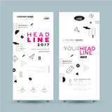 Corporate Banner - vector template illustration stock illustration