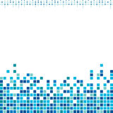 Corporate blue pixels background  Royalty Free Stock Photography