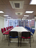 Corporate boardroom at a head office. Royalty Free Stock Photography