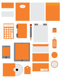 Corporate branding identity. Illustration of corporate branding identity Stock Images