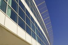 Corporate building. Modern corporate building Royalty Free Stock Image