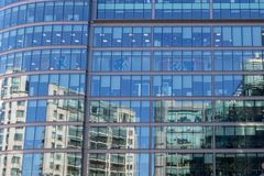 Corporate building in detail - business concept royalty free stock images