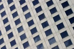 Corporate building facade. Close up of a modern corporate building facade Royalty Free Stock Photography