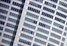 Corporate building facade Royalty Free Stock Photo