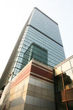 Corporate building in Hongkong Stock Image