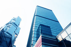 Corporate building in Hongkong Stock Photography