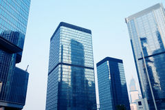 Corporate building in Hongkong Stock Photo