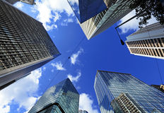 Corporate building from low angle Stock Image