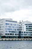 Corporate building. Modern looking office building in Sweden Royalty Free Stock Photos