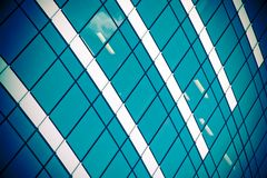 Corporate building with office windows Royalty Free Stock Photo