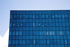 Corporate building with office windows Royalty Free Stock Image
