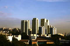 Singapore Public housing Stock Photography