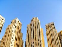 Corporate buildings in Dubai Stock Image