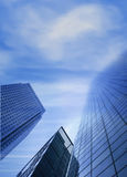 Corporate buildings - sky is the limit Royalty Free Stock Image