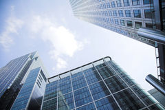 Corporate buildings towards the sky 3 Royalty Free Stock Photography