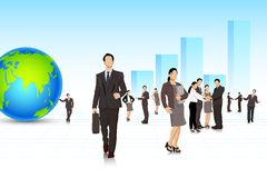 Corporate Business Stock Image