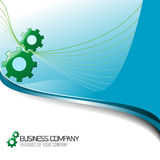 Corporate Business Background and icon. royalty free illustration