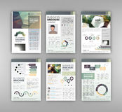 Corporate business brochure Stock Image