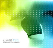 Corporate business brochure or card cover. Royalty Free Stock Image