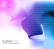 Corporate business brochure or card cover. Stock Photos